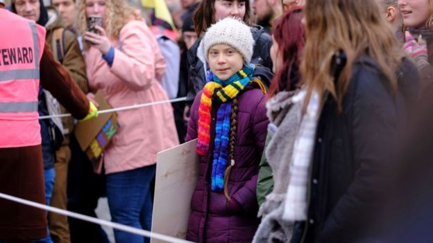 Greta Thunberg, activista sueca.