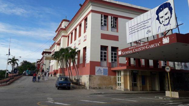 Hospital Calixto García.
