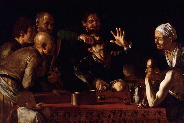 El dolor de la sacada de una muela en la obra de Michelangelo Merisi da Caravaggio (1571 - 1610)