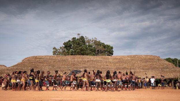 Indigenous gathering
