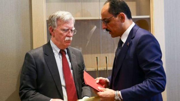 John Bolton ve İbrahim Kalın