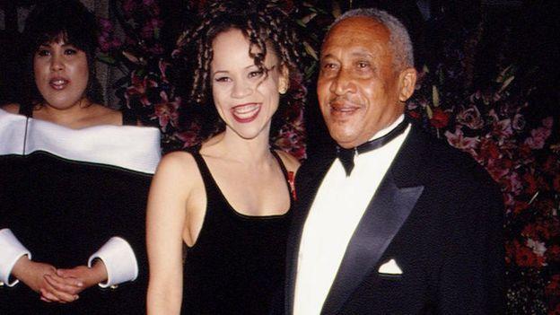 Rosie Perez en los premios Oscar de 1994.