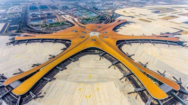 Aeropuerto de Daxing en 2019.