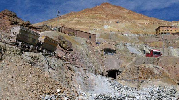 Minas de Potosí, Bolivia.