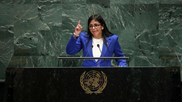 Delcy Rodríguez.