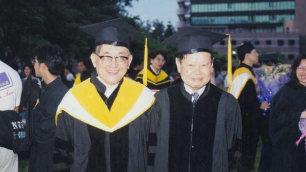 沈君山與物理學家楊振寧一直是至交。