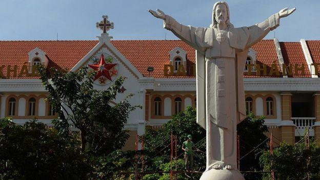越南被認為是一個佛教徒國家,只有約7%的天主教徒