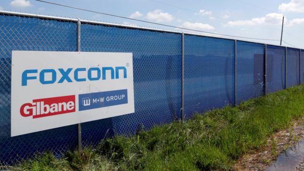 除了印度的廠房,富士康今年1 月也宣佈正在重新考慮在美國威斯康辛州的設廠計劃。