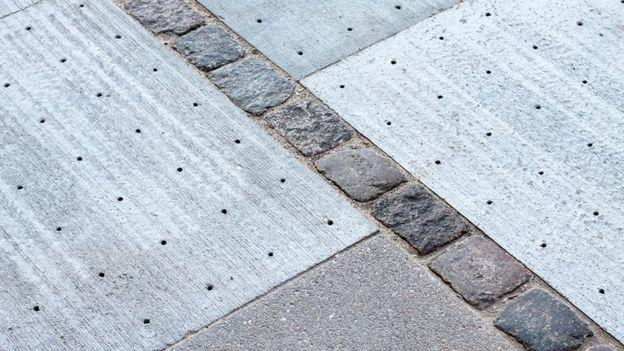"""Climate tiles o """"baldosas climáticas""""."""