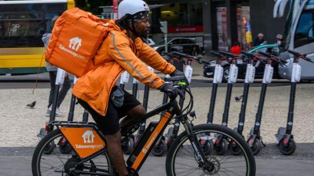 Takeaway.com rider