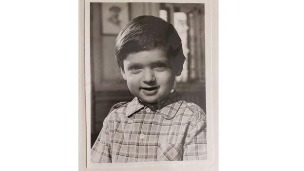 Rob Bernshteyn cuando era niño.