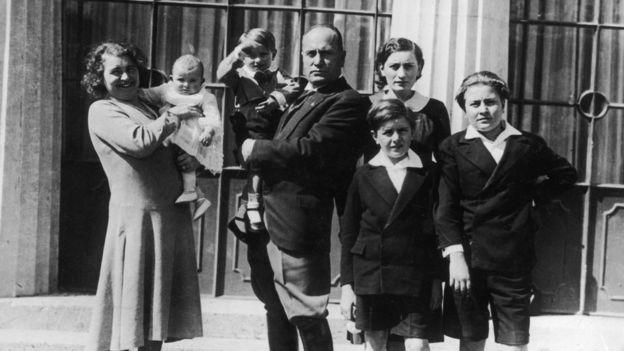 Mussolini ve çocukları