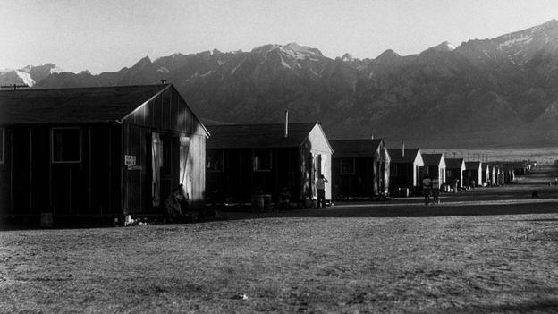 El campo de internamiento de Manzanar, en California, fue uno de los 10 campos a los que fueron enviados los estadounidenses de origen japonés.