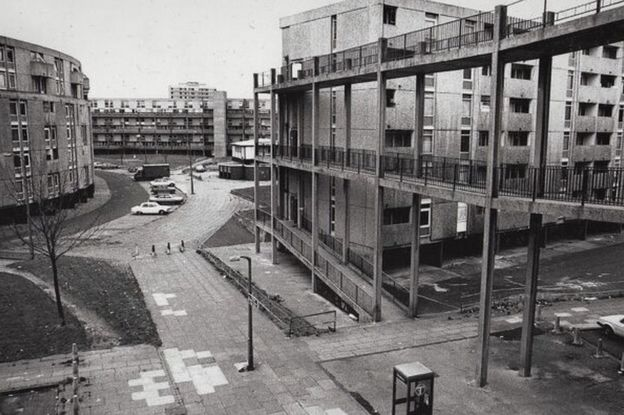 Hulme, Manchester, late 1980s