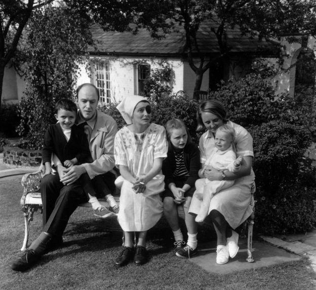 Young Roald Dahl