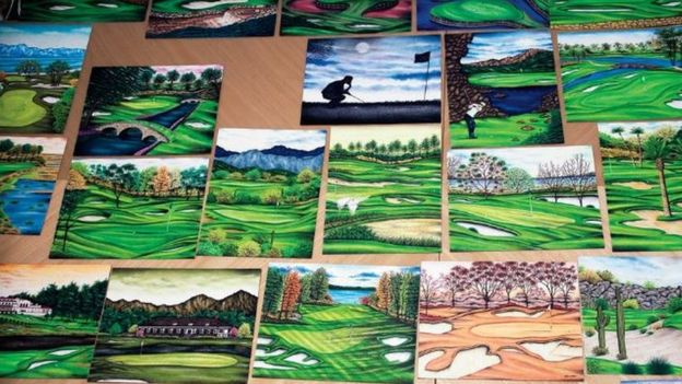 New York inmate's golf drawings lead to exoneration in
