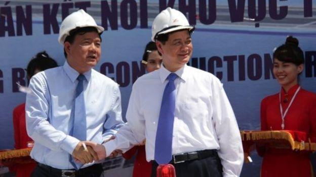 Ông Thăng là Bộ trưởng Giao Thông Vận tải dưới thời Thủ tướng Nguyễn Tấn Dũng