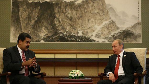 Maduro e Putin