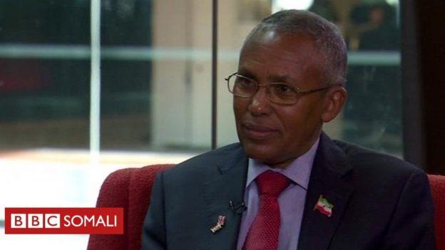 Wasiirka Arrimaha dibadda Somaliland Sacad Cali Shire