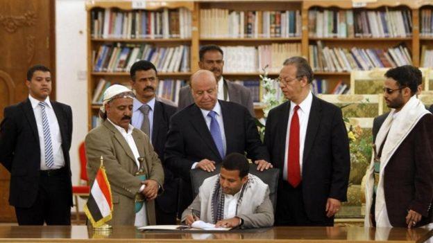 توافق طرفهای یمنی