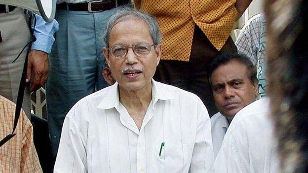 বিকল্পধারার নেতা বদরুদ্দোজা চৌধুরী।