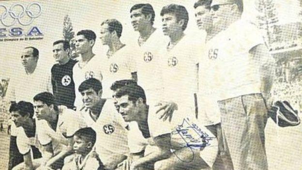 Time de El Salvador na Copa do México de 1970