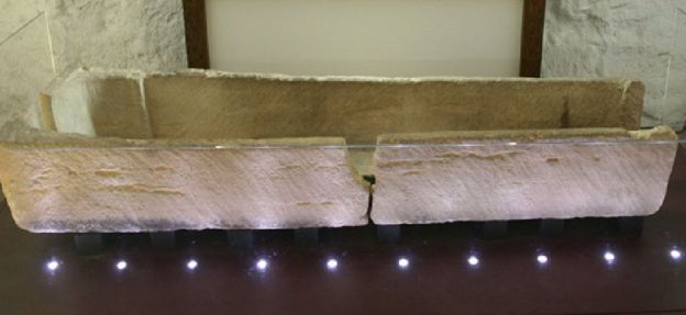 Ancient coffin breaks as child put in it at Southend museum