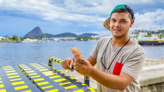 Ambulante no Rio de Janeiro