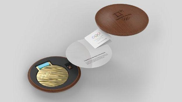 La caja en la que se guardan las medallas rememora las casas tradicionales de Corea, llamadas hanok. (Foto: PyeongChang 2018)
