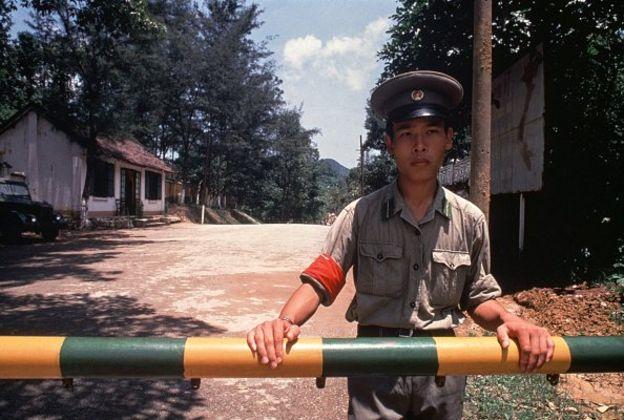 Bộ đội biên phòng trên mặt trận Trung-Việt vào tháng 8 năm 1978 ở miền Bắc Việt Nam
