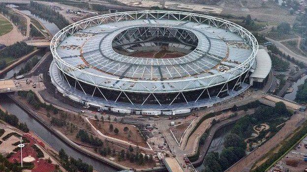 The Olympic Stadium