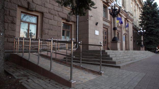 Пандус у Миколаєві
