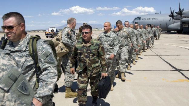 Donald Trump ordenó desplegar miles de tropas en la frontera con México.