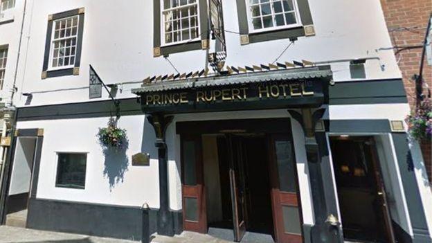 Coronavirus Shrewsbury Hotel Owner Houses Rough Sleepers Bbc News