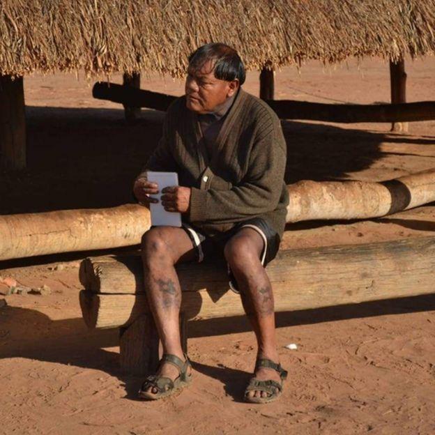 Aritana Yawalapiti, líder do Alto Xingu