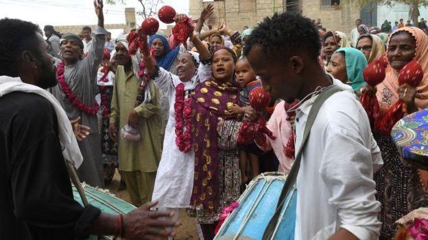 Qowmiyada Sidi oo u dabaaldegaysa sanad guurada Mangho Pir