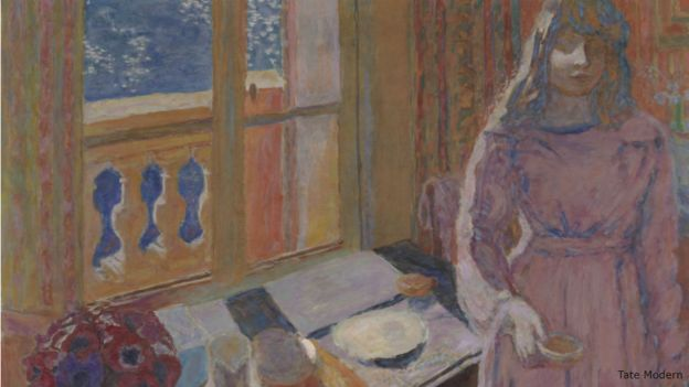 Pierre Bonnard's A Bowl of Milk