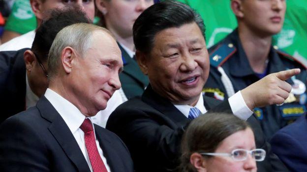 習近平和普京今年多次會面,中國早前更派員參加俄羅斯自冷戰時期以來規模最大的軍事演習。