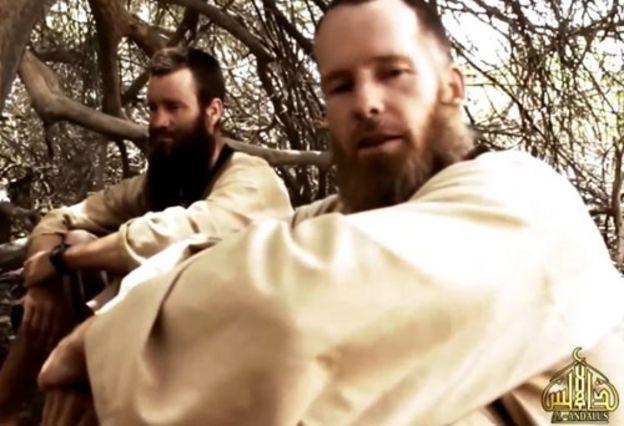 McGown em vídeo da Al-Qaeda