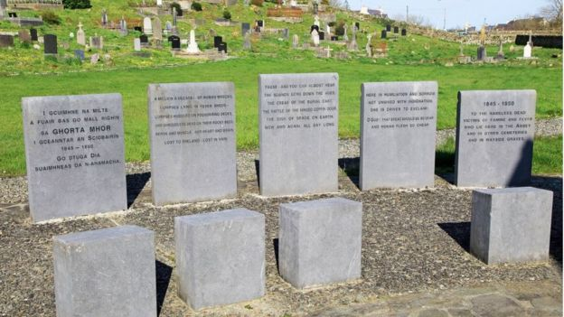 tumbas en Irlanda