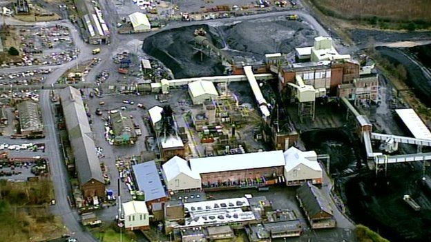 Thoresby Colliery aerial