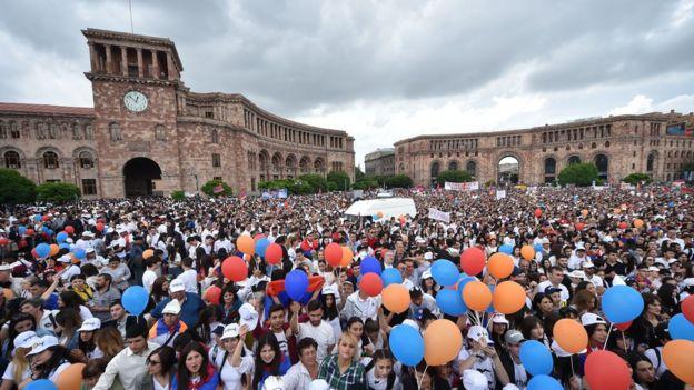 Cumhuriyet Meydanı'ndaki eylemler