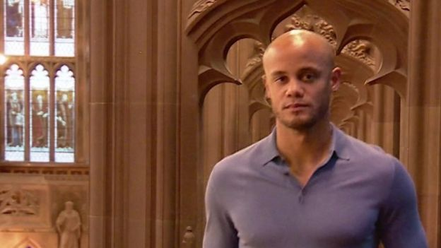 Manchester City captain Vincent Kompany has graduated with a Masters in Business Administration.