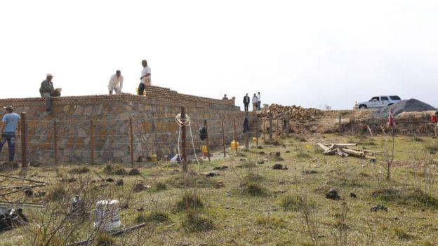 Monumento de Acosta Ñu em obras