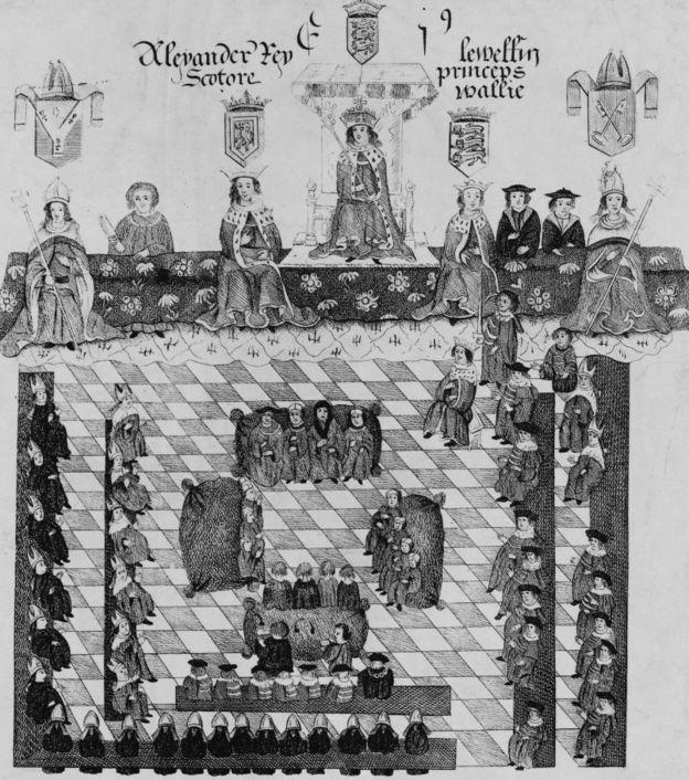 Ллівелін Останній - по ліву руку англійського короля