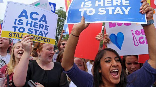 Obamacare survived a US Supreme Court challenge in June 2015