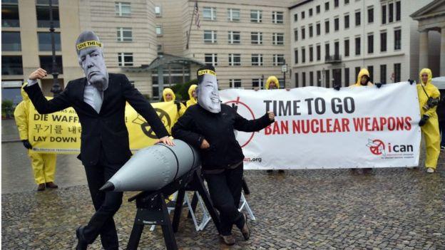 Nükleer silahlara karşı protesto