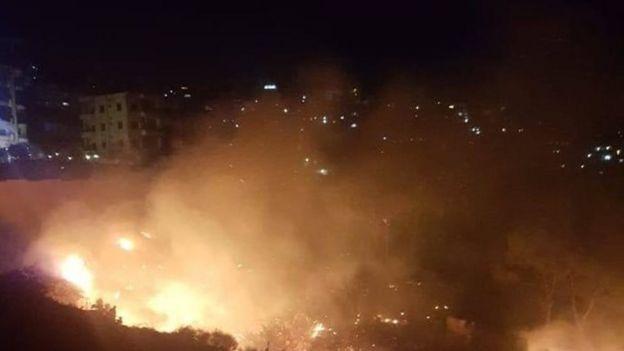 لبنان يشهد حرائق غير مسبوقة