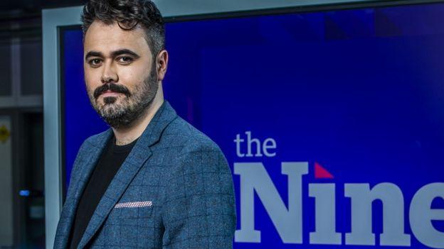 Meet the news stars of BBC Scotland's The Nine - BBC News