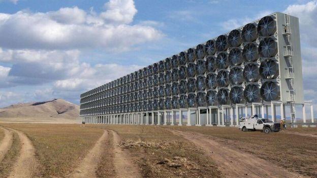 Обладнання для видалення діоксиду вуглецю з повітря